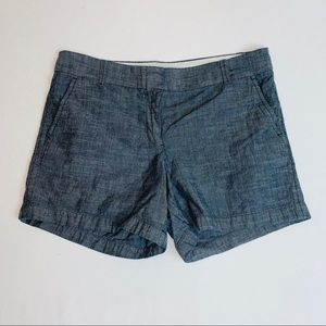 J Crew~ Size 10, Blue Shorts